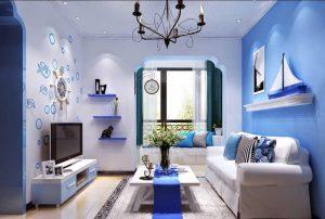 warna ruangan terang